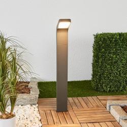 Lindby LED svítidlo pro chodníky Maddox, sklopené