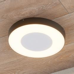 Lucande LED venkovní stropní svítidlo Sora, kulaté