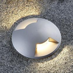 Lucande Zemní zápustné svítidlo Bartosz z hliníku
