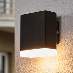 Lindby LED venkovní nástěnné svítidlo Aya v černé barvě