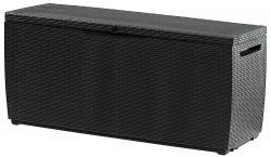 Plastový úložný box 305 L (antracit)