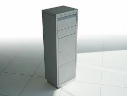 Radius design cologne Schránka na dopisy RADIUS DESIGN (LETTERMANN standing ovation silver 601C) stříbrná