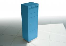 Radius design cologne Schránka na dopisy RADIUS DESIGN (LETTERMANN standing ovation blue 601N) modrá
