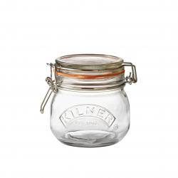 Kilner kulatá zavařovací sklenice s klipem, 0,5 l