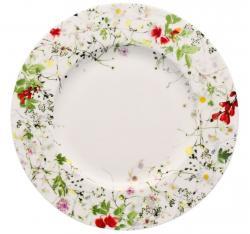 Rosenthal Brillance Fleurs Sauvages dezertní talíř, 23 cm
