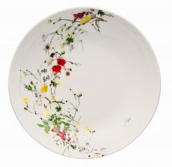 Hluboký talíř Rosenthal Brillance Fleurs Sauvages, 21 cm