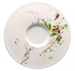 Rosenthal Brillance Fleurs Sauvages Polévkový podšálek, 18,5 cm