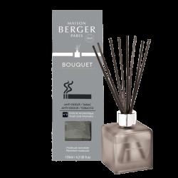 Maison Berger Paris aroma difuzér Cube, Proti zápachu tabáku – Osvěžující aromatická vůně, 125 ml