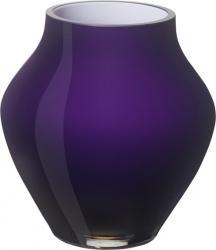 Villeroy & Boch Oronda skleněná váza dark lilac, 21 cm