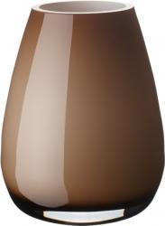 Villeroy & Boch Drop skleněná váza natural cotton, 18,5 cm