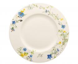 Rosenthal Fleurs des Alpes dezertní talíř s okrajem, 23 cm