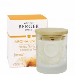 Maison Berger Paris svíčka Aroma Energy – Čerstvé tonikum, 180 g