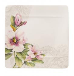 Villeroy & Boch Quinsai Garden jídelní talíř růžový, 27 x 27 cm