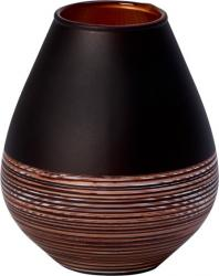 Villeroy & Boch Manufacture Swirl skleněná váza, 12 cm
