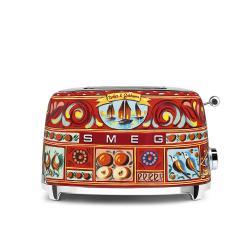 Toustovač Smeg Dolce & Gabbana, 2x2, TSF01DGEU