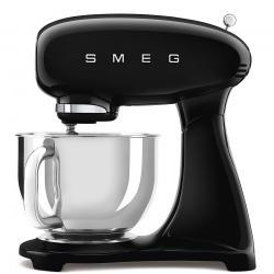 Kuchyňský robot Smeg Retro Style 50´s SMF03, černý, SMF03BLEU