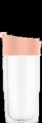 SIGG skleněný cestovní hrnek Nova Sky Pink, 0,37 l