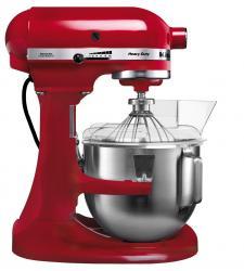 Kuchyňský robot KitchenAid Heavy Duty 5KPM5, se zvedací mísou 4,8 l, červený
