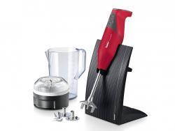 Tyčový mixér Bamix Swissline M200, červený mat, 200 W