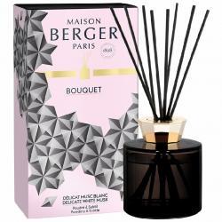 Maison Berger Paris aroma difuzér Black Crystal, Jemné bílé pižmo 180 ml