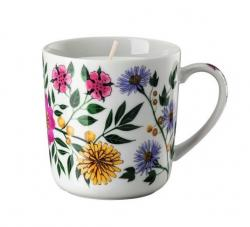 Stolní svícen se svíčkou Rosenthal Magic Garden Blossom, 380 ml
