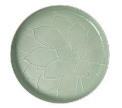 Villeroy & Boch it's my home porcelánový podnos Ø 34 cm, světle zelený