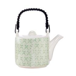 RETRO Konvička na čaj - zelená