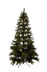 J-Line by Jolipa Vánoční stromek s led světýlky zelený - 225cm