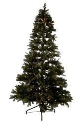 J-Line by Jolipa Vánoční stromek s led světýlky zelený - 270cm