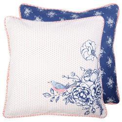 Me&Marie Povlak na polštář Rose Garden Blue - 40*40 cm