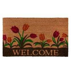 Kokosová rohožka Welcome - 75*45 cm