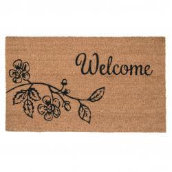 Kokosová rohožka Welcome - 75*45*1 cm