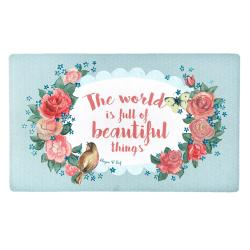 Podlahová rohož Beautiful things - 74*44 cm