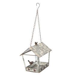 Plechová ptačí budka - 24*17*23 cm