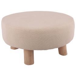 Přírodní stolička Scandinavian - Ø60*30 cm