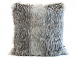 Polštář s výplní s dlouhým vlasem Longair - 50*50cm