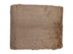 Caramelový pléd / přehoz s krátkým vlasem Shorty - 130*170cm