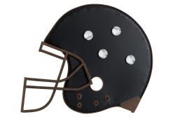 J-Line by Jolipa Nástěnná magnetická tabule Baseball helm - 50*2,5*43cm
