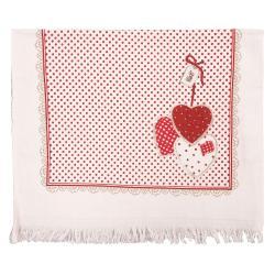 Kuchyňský froté ručník Red Hearts - 40*60 cm