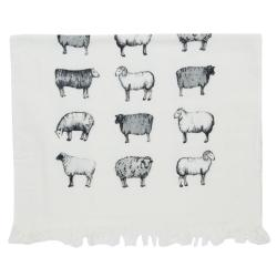 Kuchyňský froté ručník Sheep - 40*60 cm