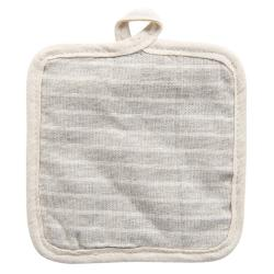 Bavlněná podložka pod hrnec s proužky - 16*16 cm