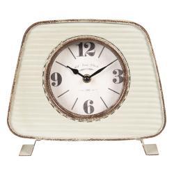 Vintage stolní hodiny s patinou - 13*6*27 cm/1xAA
