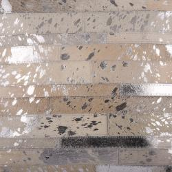 Collectione Koberec Enrico z kožených dílků - 170*240 cm