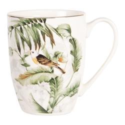 Porcelánový hrneček Tropical birds - 0.36L
