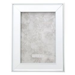 Fotorámeček se skleněným okrajem Josue - 18*2*23 / 13*18 cm
