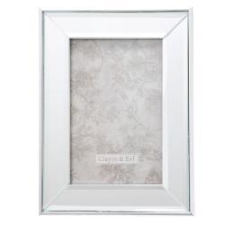 Rámeček na fotografie se skleněným okrajem Josue - 15*2*20 / 10*15 cm