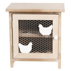 Dřevěná skříňka na vajíčka - 20*14*21 cm