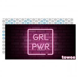 Towee Rychleschnoucí osuška GIRL PWR, 80 x 160 cm
