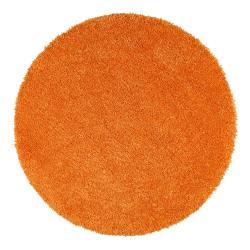 Oranžový koberec Universal Aqua Liso, ø80cm
