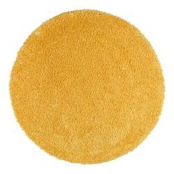 Žlutý koberec Universal Aqua Liso, ø80cm